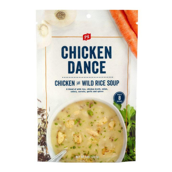 PS Seasoning 8 oz. Chicken Dance Wild Rice Soup Mix
