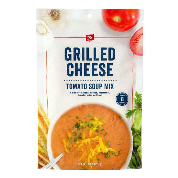 PS Seasoning 8 oz. Grilled Cheese Tomato Soup Mix