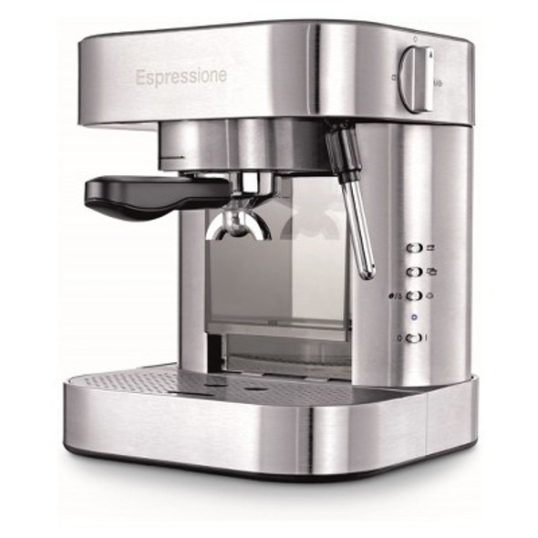 Espressione Automatic Pump Espresso Machine with Thermo Block System in Stainless Steel