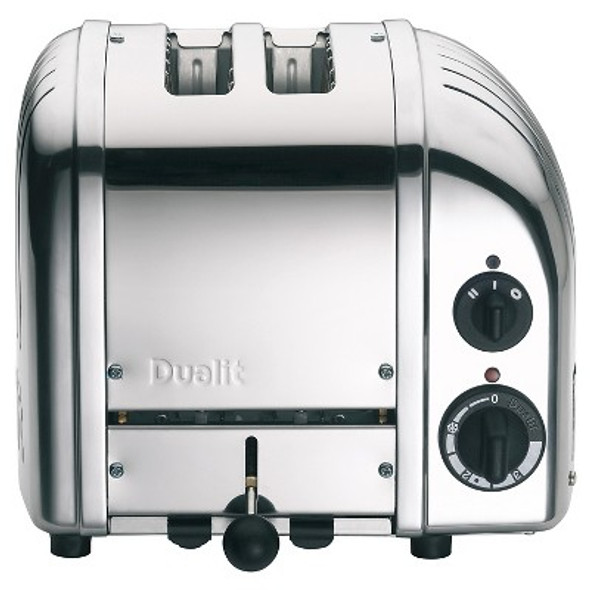 Dualit Classic 2-Slice Toasters in Chrome