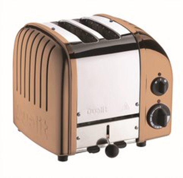 Dualit Classic 2-Slice Toasters in Candy Apple Red