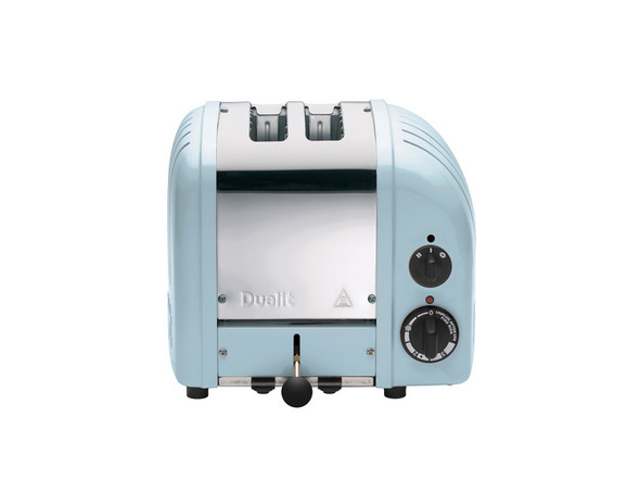 Dualit Classic 2-Slice Toasters in Glacier Blue