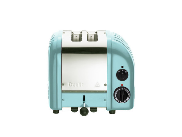 Dualit Classic 2-Slice Toasters in Azure Blue