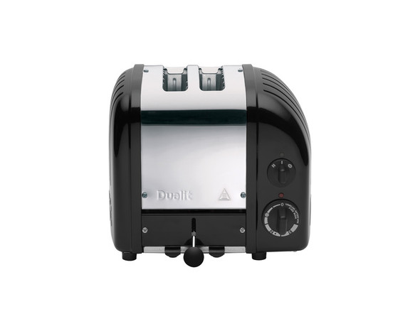Dualit Classic 2-Slice Toasters in Matte Black