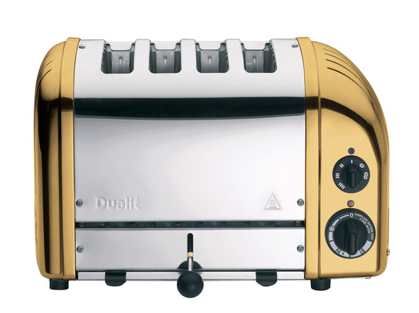 Dualit Classic 4-Slice Toasters in Brass