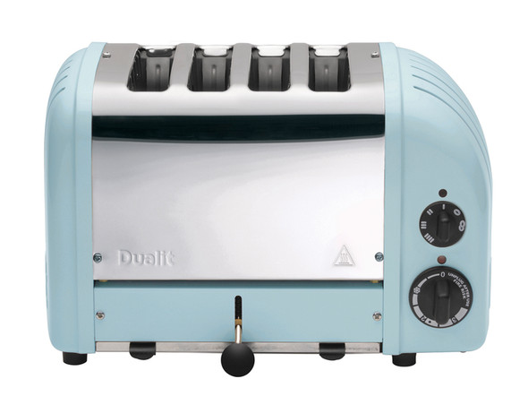 Dualit Classic 4-Slice Toasters in Glacier Blue