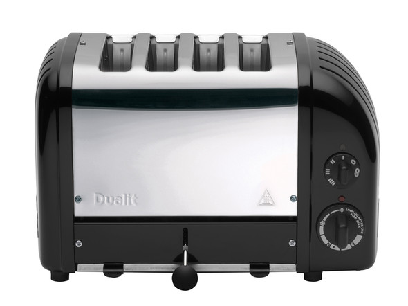 Dualit Classic 4-Slice Toasters in Matte Black