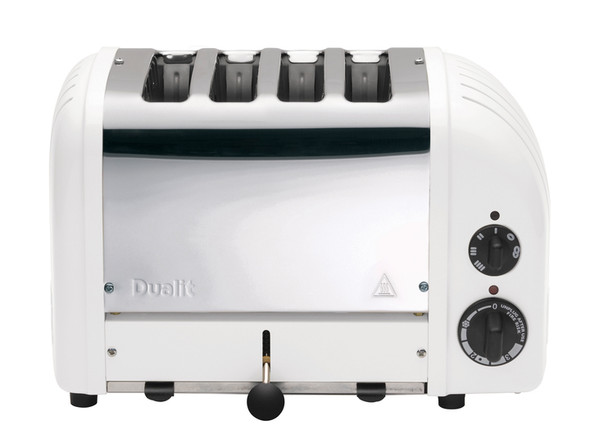 Dualit Classic 4-Slice Toasters in White