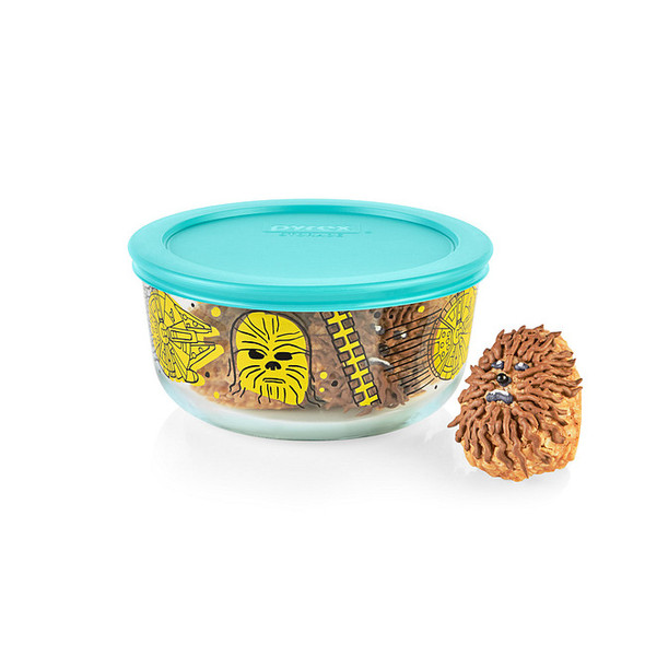 Pyrex® 4-cup Decorated Storage: Star Wars™ - Chewbacca™