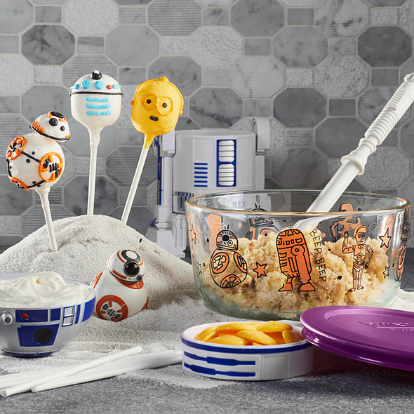 Pyrex® 4-cup Decorated Storage: Star Wars™ - Droids™