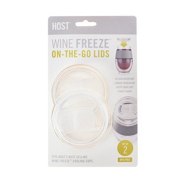 Wine FREEZE Lid Set of Two By HOST