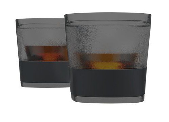 HOST® FREEZE™ Whiskey Cooling Cups in Smoke (Set of 2)