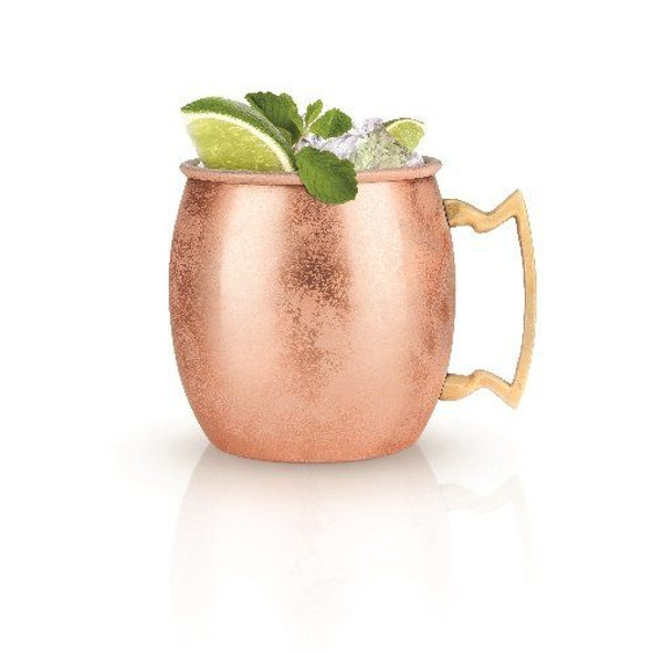 Moscow Mule Copper Cocktail Mug by True (Set of 2)