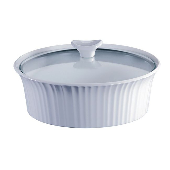 Corningware® French White 2.5-Quart Baking Dish with Lid