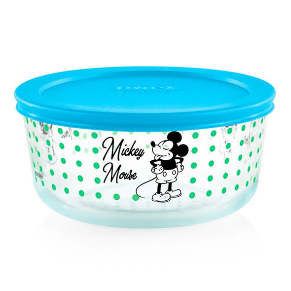 Pyrex® 4-Cup Decorated Mickey Mouse Storage