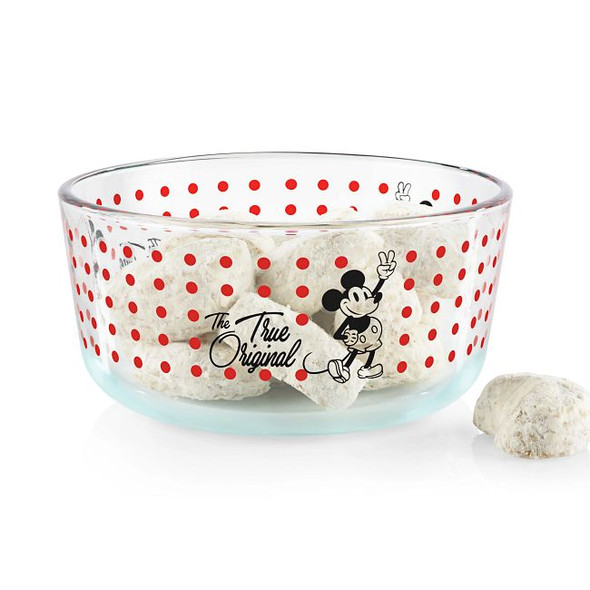 Pyrex® 4-cup Mickey Mouse True Original Decorated Storage