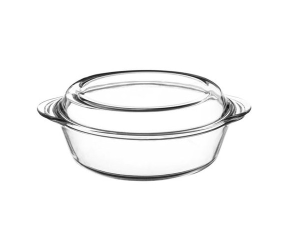 Mason Cash® Classic Collection 0.9 qt. Clear Casserole Dish with Lid