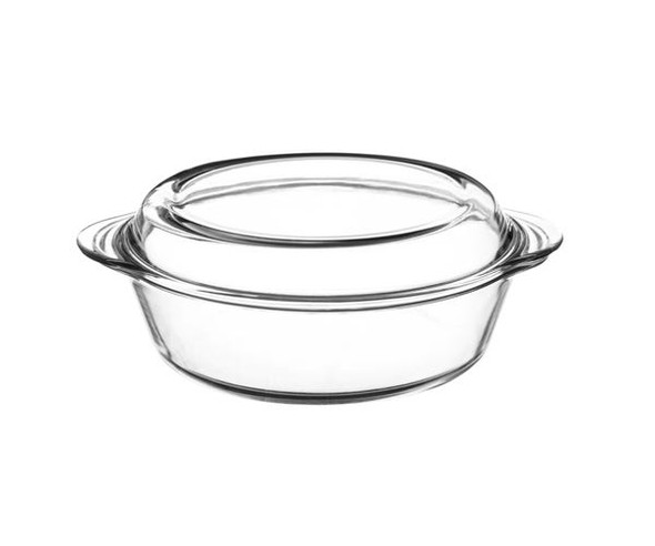 Mason Cash® Classic Collection 2.1 qt. Clear Casserole Dish with Lid