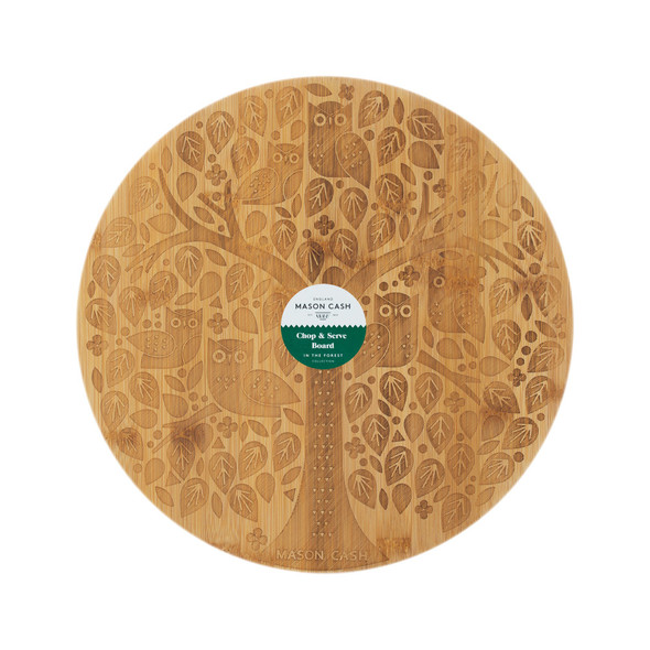 Mason Cash® In The Forest Bamboo Round Serving Board