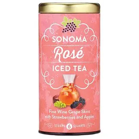 The Republic of Sonoma Rose's Iced Tea Bags (6 Count)