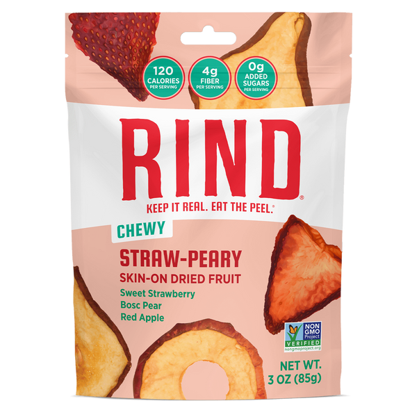 Rind 2.75 oz. Bag Straw-Peary Blend (Pack of 6)