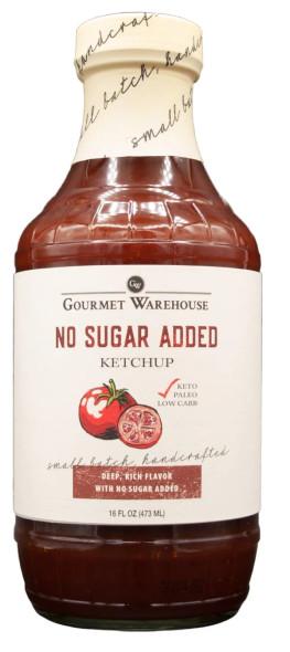 Gourmet Warehouse 16 oz. Sugar Free Ketchup