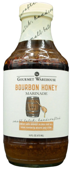 Gourmet Warehouse 16 oz. Bourbon Honey Marinade