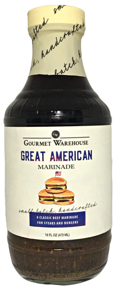 Gourmet Warehouse 16 oz. Great American Marinade