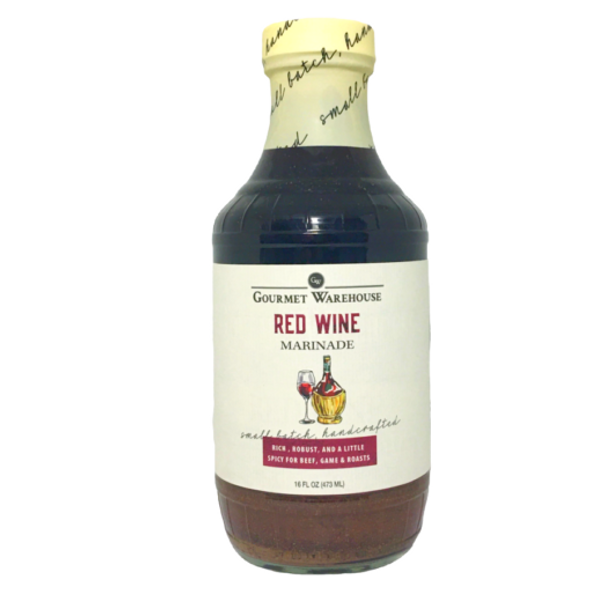 Gourmet Warehouse 16 oz. Red Wine Marinade