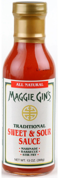 Maggie Gin's 15 oz. Sweet and Sour Sauce