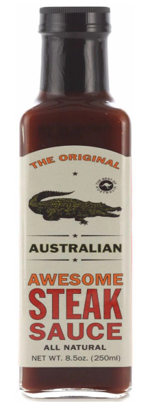 The Original Australian 8 oz. Awesome Steak Sauce