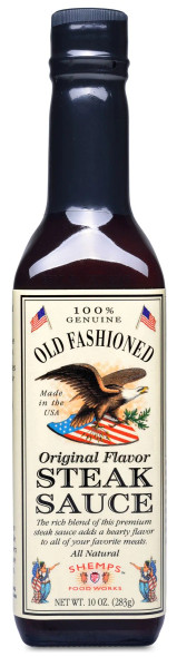 Shemps Old Fashioned 10 oz. Steak Sauce