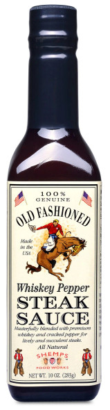 Shemps Old Fashioned 10 oz. Whiskey Pepper Steak Sauce