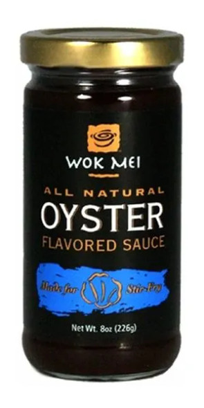 Wok Mei All Natural 8 oz. Oyster Flavored Sauce