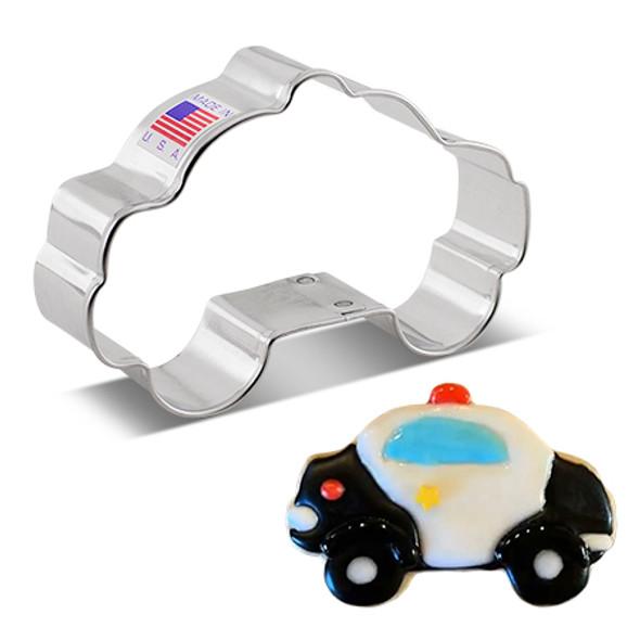 "Ann Clark 3.75"" Police Car Cookie Cutter"