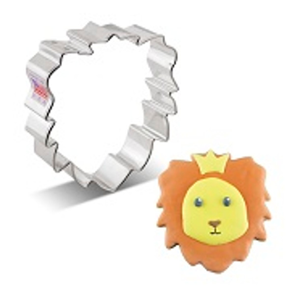 Ann Clark Lion Face Cookie Cutter