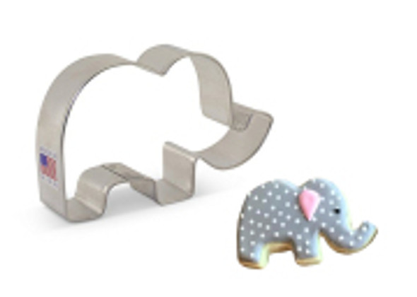 Ann Clark Cute Elephant Cookie Cutter