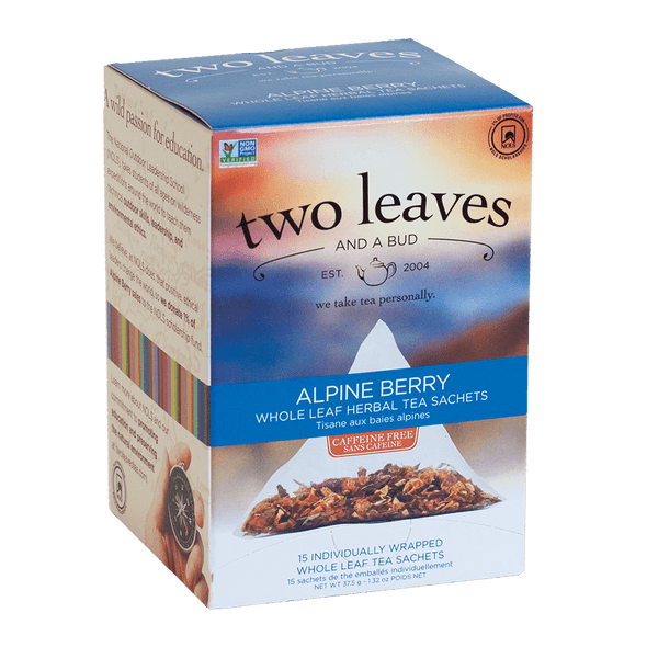 Two Leaves And A Bud Alpine Berry Tea (15 Count Box)