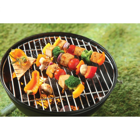 """HIC Kitchen 15"""" Non-Stick Barbecue Skewers (Set of 4)"""