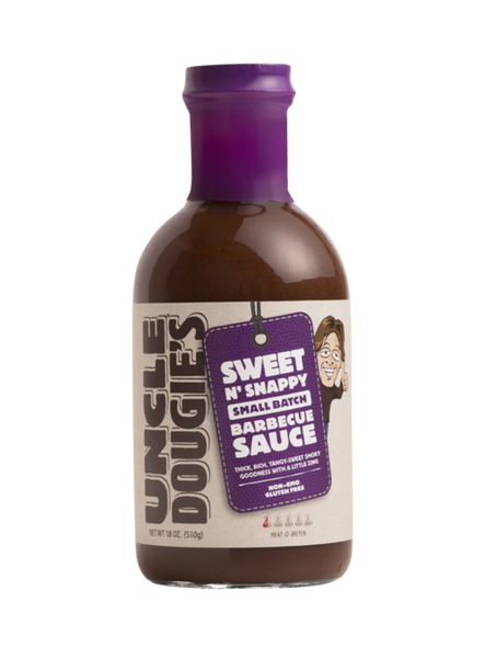 Uncle Dougies 18 oz. Sweet N' Sappy BBQ Sauce