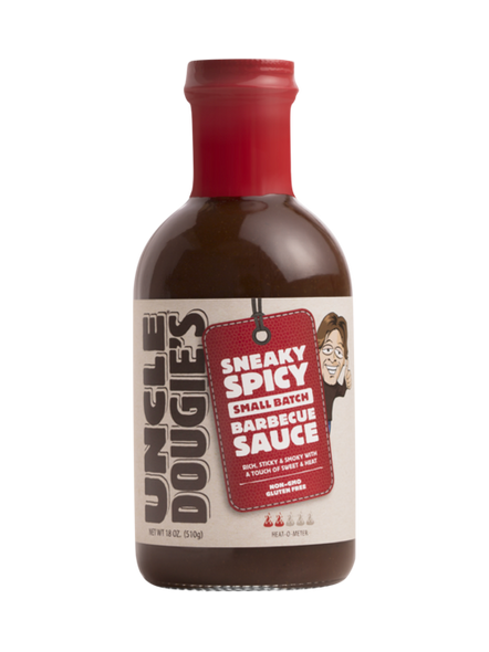 Uncle Dougies 18 oz. Sneaky Spicy BBQ Sauce