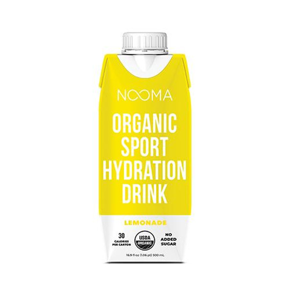NOOMA Lemonade 16.9 oz. Organic Electrolyte Sports Drinks (12 Pack)