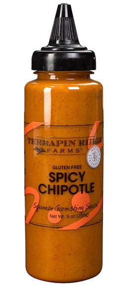 Terrapin Ridge Farms 9 oz. Spicy Chipolte Squeeze Garnishing Sauce