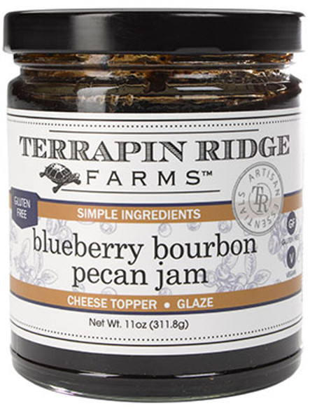 Terrapin Ridge Farms 11 oz. Blueberry Bourbon Pecan Jam
