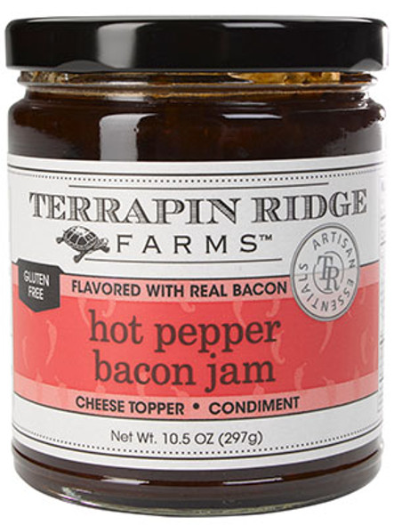 Terrapin Ridge Farms 10.5 oz. Hot Pepper Bacon Jam