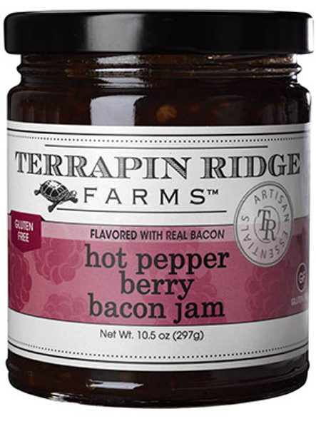 Terrapin Ridge Farms 10.5 oz. Hot Pepper Berry Bacon Jam