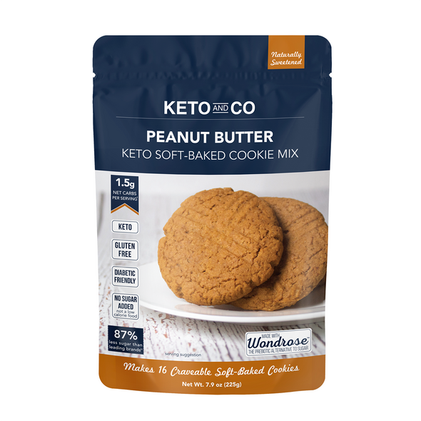 Keto and Co. 8.43 oz. Keto Soft-Baked Peanut Butter Cookie Mix