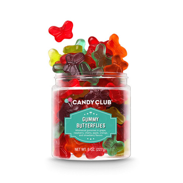 Candy Club 8 oz. Gummy Butterflies