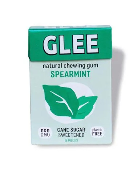 GLEE 16-Piece Spearmint Natural Chewing Gum