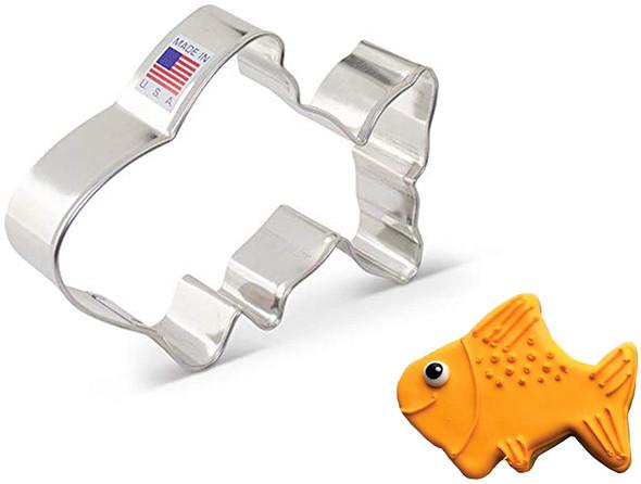 Ann Clark Cute Fish Cookie Cutter